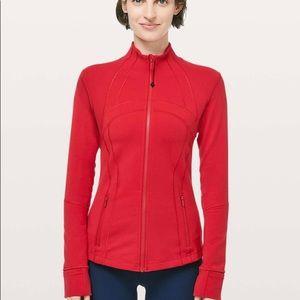 Lululemon Define Jacket Dark Red